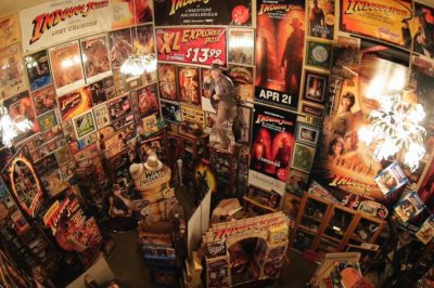 Wisconsin man has custom home built for Indiana Jones collection