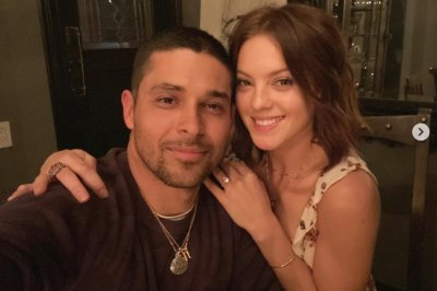 Wilmer Valderrama, fiancee celebrate first anniversary as couple