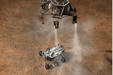Mars landing to go live in the Big Apple