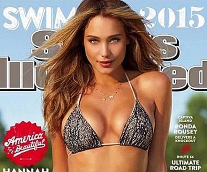 Hannah Davis covers 2015 Sports Illustrated Swimsuit Issue