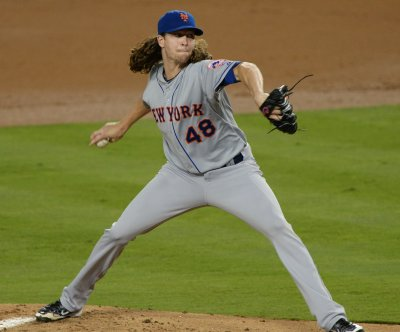 Jacob DeGrom, New York Mets take Game 1 vs. Clayton Kershaw, Los Angeles Dodgers