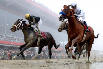 Preakness Stakes: Justify wins, sets up chance for Triple Crown