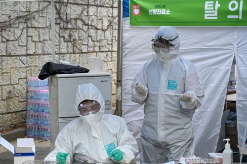 Local COVID-19 cases in South Korea spike to highest number since March