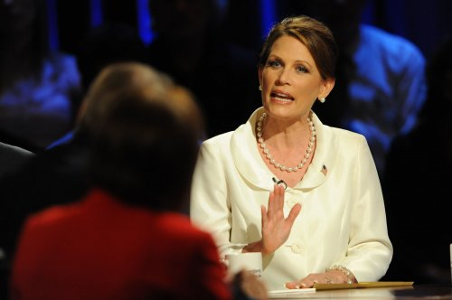 Group calls for Bachmann to quit