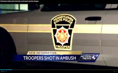 Suspect identified in killing of Pa. state trooper ambushed at barracks