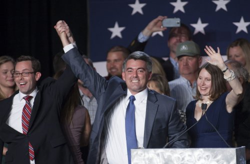Cory Gardner projected to oust Mark Udall in Colorado U.S. Senate race