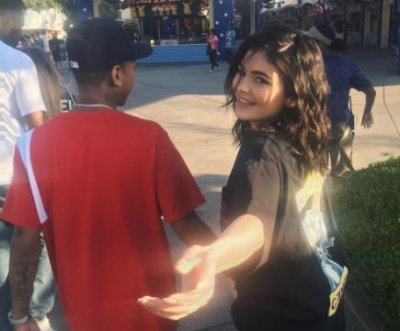 Kylie Jenner enjoys family outing with Tyga, his son
