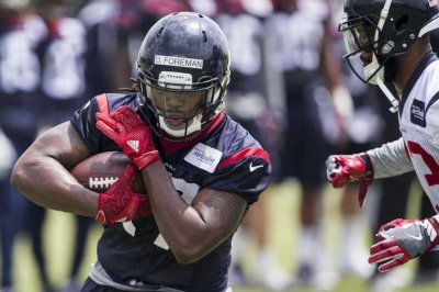 Houston Texans RB D'Onta Foreman arrested on marijuana, gun charges