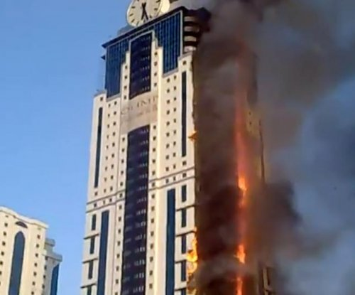 2 dead after raging fire at Russia hotel
