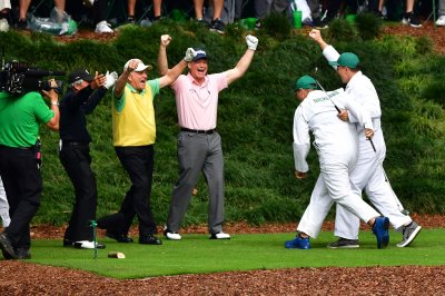 Jack Nicklaus's grandson sinks hole-in-one at Masters Par 3 Contest