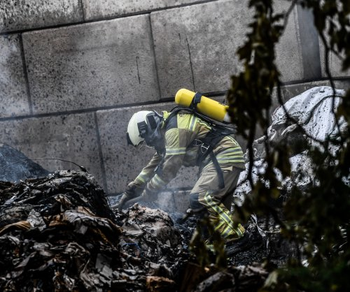 Small blast, fire trigged as WWII bomb defused in Dresden