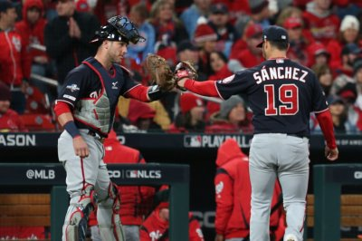 NLCS: Anibal Sanchez takes no-hitter into 8th as Nationals beat Cardinals