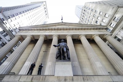 Dow falls 396 points, reversing Monday's gains