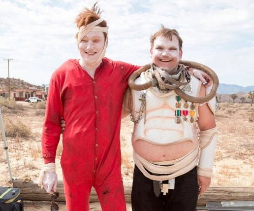 Conan travels to Comic Con, 'Mad Max' style