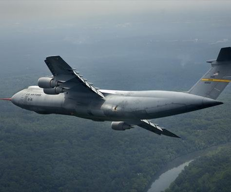 Air Force grounds C-5 Galaxy jets at Dover Air Force Base