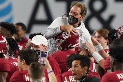 Alabama's Nick Saban wins 2020 Paul 'Bear' Bryant Award