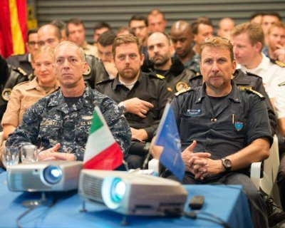 NATO maritime exercise 'Noble Justification' underway in Mediterranean and Atlantic
