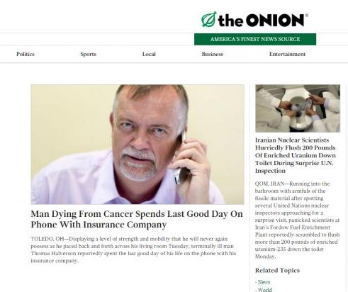 Univision buys controlling stake of The Onion satirical news site
