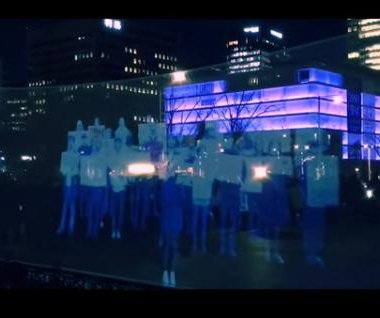 South Korean activists hold world's second 'hologram protest'