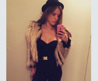 Bella Thorne criticized for claiming fur coat was fake