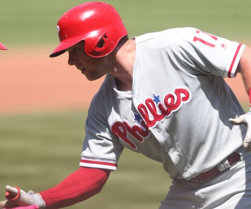 Phillies hopeful slugger Rhys Hoskins will be ready for the opener