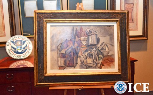 Picasso seized as part of Italian tax fraud case