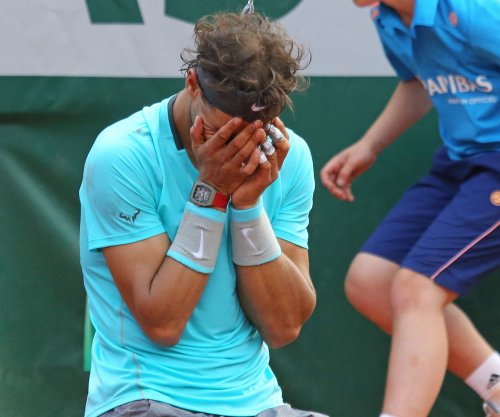 Nadal drops out of Top 5
