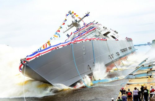 New Littoral Combat Ship launched for U.S. Navy
