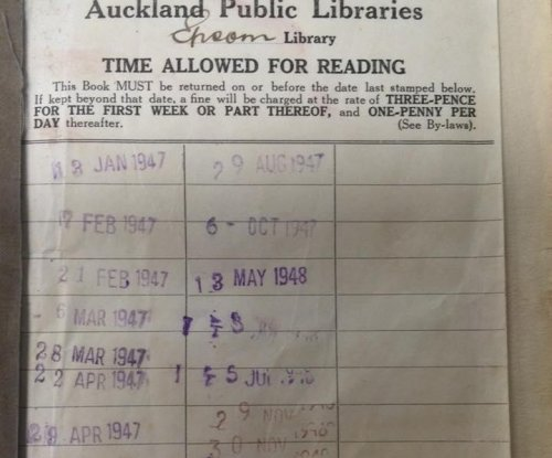 Woman returns library book 67 years late