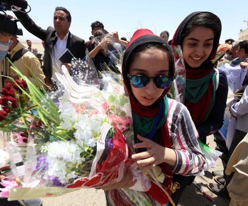 Father of Afghan robotics team member killed in mosque explosion