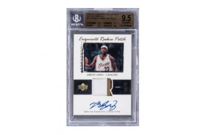 LeBron James rookie card fetches $1.8M at auction