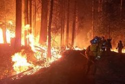 PG&E faces manslaughter charges tied to 2020 California wildfire