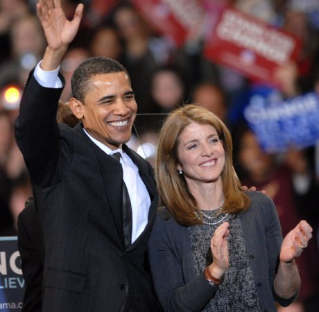 Caroline Kennedy has skipped voting