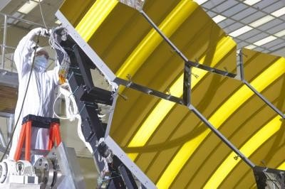 Space telescope mirrors pass 'chill' test