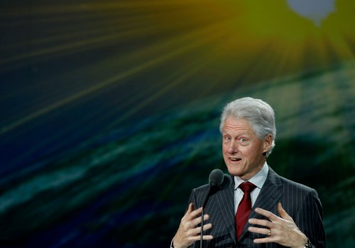 Clinton named Father of the Year
