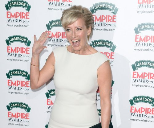 Emma Thompson, sister Sophie film 'Great British Bake Off' spoof at fracking site