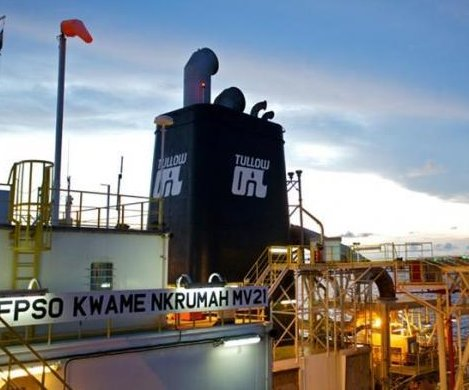 Tullow covered for more losses offshore Ghana