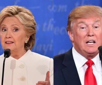 Clinton, Trump face off again at Al Smith Dinner