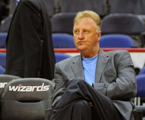 Larry Bird officially steps down as president of Indiana Pacers