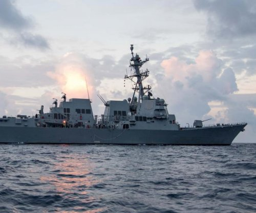 Arleigh Burke-class destroyer Ralph Johnson completes builders trials