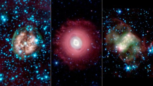 NASA releases 'ghostly' stellar images in time for Halloween