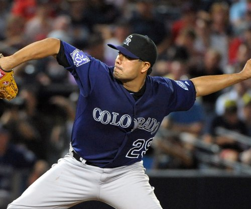 De La Rosa debuts as Colorado Rockies host San Diego Padres