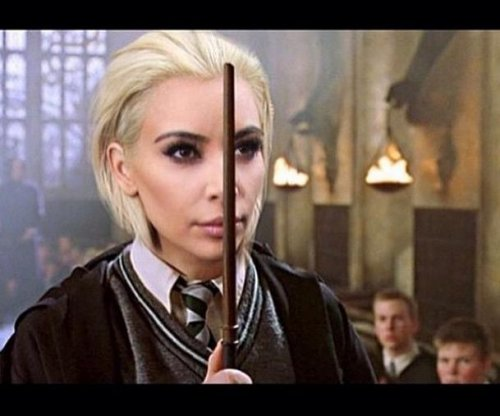 Draco Malfoy actor pokes fun at Kim Kardashian's blonde hair