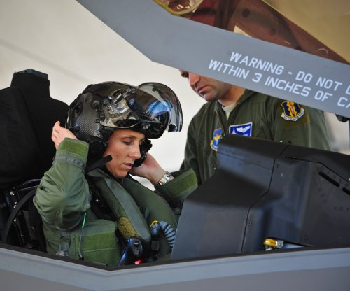 Eglin Air Force Base welcomes first female F-35 pilot