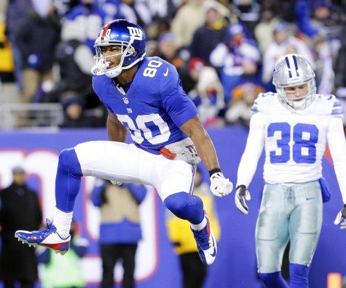 New York Giants WR Victor Cruz slowed by calf strain