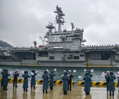 Nimitz-class carrier USS Ronald Reagan begins sea trials