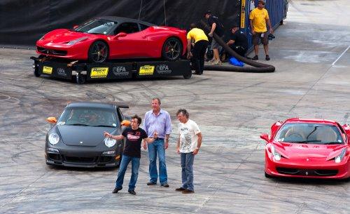 'Grand Tour' star, 'Top Gear' alum Richard Hammond hurt in car crash