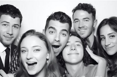 Joe Jonas, Sophie Turner throw engagement party with family and friends