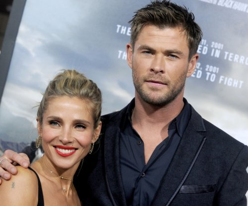 Chris Hemsworth, Elsa Pataky dazzle at '12 Strong' premiere