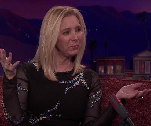 Lisa Kudrow talks fake 'Friends' movie trailer, possible reunion on 'Conan'